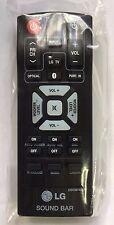 NEW OEM LG SOUND BAR REMOTE CONTROL COV30748128 NB2540 NB2540A S24A1-W S24A1W