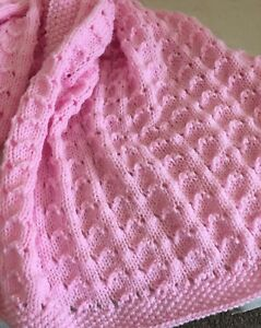 Knitting-pattern-Sea-Shells-Baby-Blanket-Paper-Copy