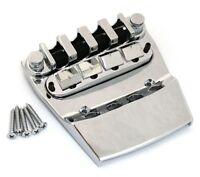 For Rickenbacker Bass Bridge & Tailpiece Bass Guitar Parts Chrome