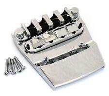 NEW for Rickenbacker Bass BRIDGE & TAILPIECE Bass Guitar Parts Chrome