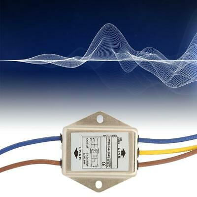 040 1PCS CW1B-10A-L Single Phase Filter EMI Power Filter 125//250v 10A