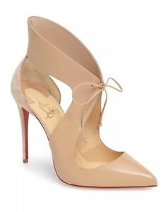 db84bbaa4a7 Details about Christian Louboutin Ferme Rouge Self-Tie Pump $995