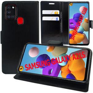 """Étui Coque Housse Portefeuille En Cuir Antichoc Samsung Galaxy A21S 6.5"""" A217F"""