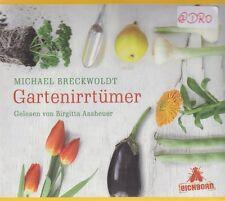 Gartenirrtümer + CD + Michael Breckwoldt + Gärtnern + Tipps + Anekdoten + NEU +