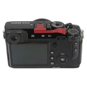 Haoge-Thumbs-Up-de-manera-segura-mano-agarre-para-Fujifilm-Fuji-X100F-X-Pro2-XPro-2-Rojo