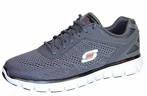 23005 Skechers Synergy conflux Mens Sneakers, Charcoal, 10.5 US