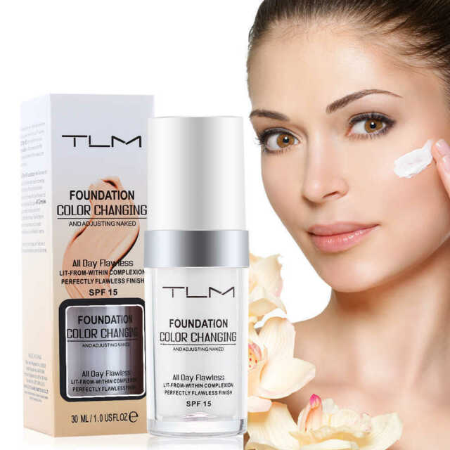 Magic Colour Color Changing Foundation TLM Makeup Change Skin Tone UK