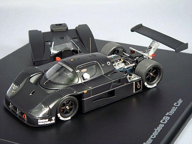 HPI-Racing 1 43 Sauber Mercedes C9 Test Voiture noir du Japon