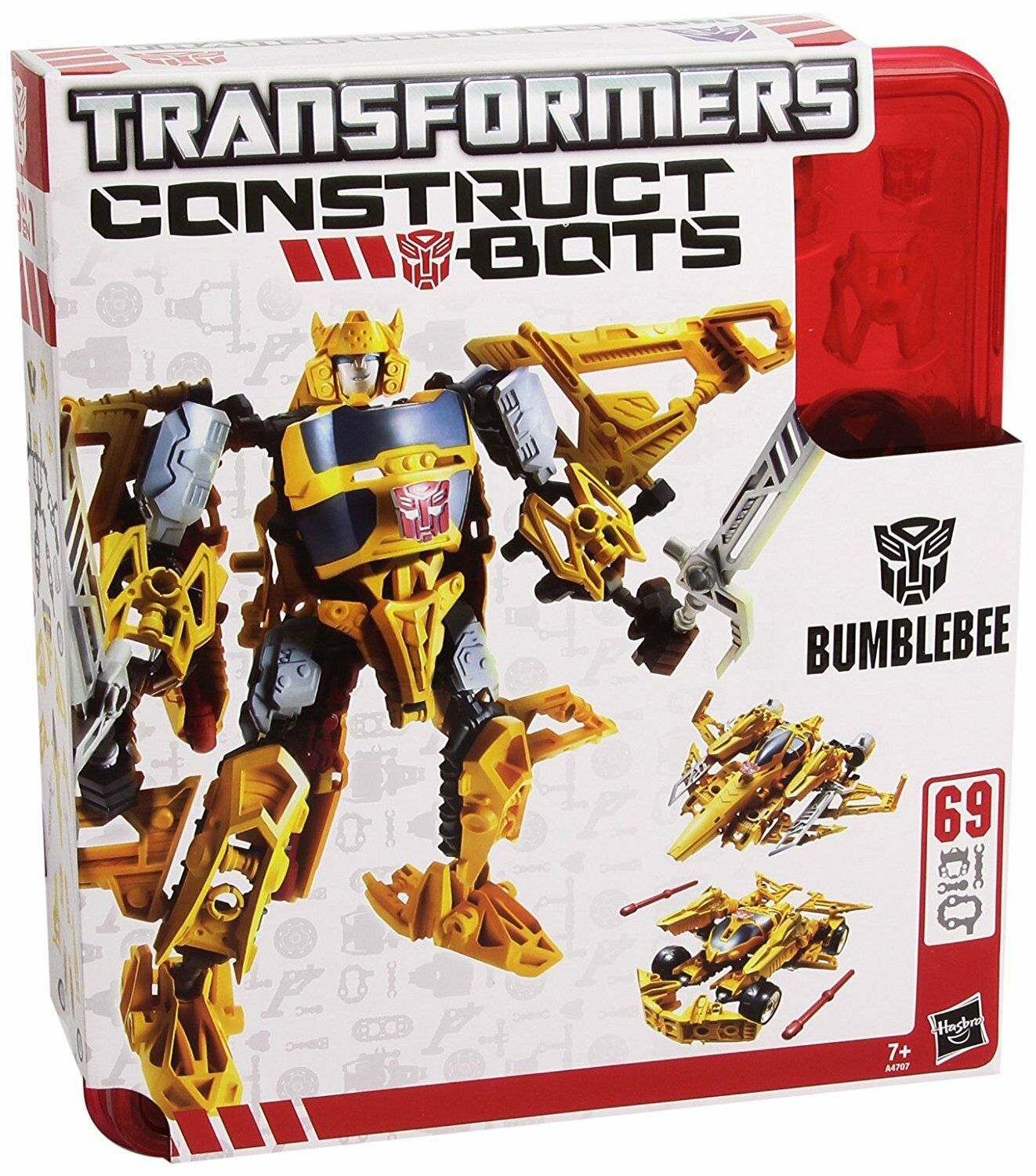 Transformers Construct-Bots Triple changeurs Bumblebee