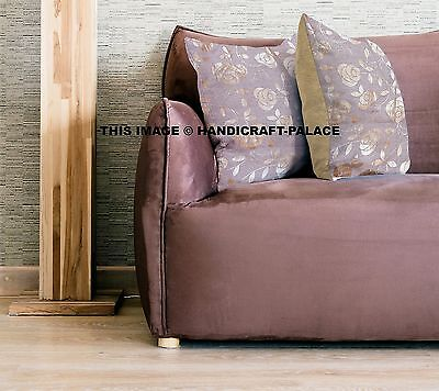 Stupendous Floral Print 16 Cushion Cover Gold Sofa Pillow Ethnic Ncnpc Chair Design For Home Ncnpcorg
