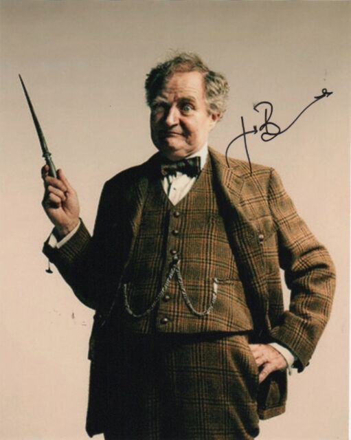 Jim Broadbent Harry Potter Autographed Signed 8x10 Photo COA C
