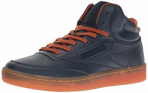 Reebok  BD1611 Mens Club C Mid Cord Fashion Sneaker- Choose SZ color.