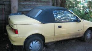 1991 Chevrolet Sprint CL
