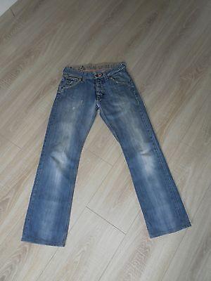 2019 Mode Jeans Von G.star 3301 Modell Studs Straight X Embro Destroyed-look Größe W30 Mit Den Modernsten GeräTen Und Techniken