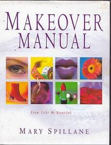 image is loading makeover manual mary spillane color me beautiful beauty - Color Me Beautiful Book