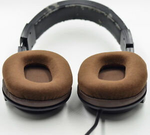 Details about Velour Ear pads cushion for Audio technica ATH-M50 M50S M50X  M40 M40S M40X Brown