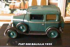 FIAT 508 A BALILLA 1932 1/43 ITALIA DIE CAST MODEL 1:43