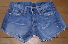 P&Y Denim Short en Jeans Femme W 25  Taille Fr 34 Gottic (Réf # A044)