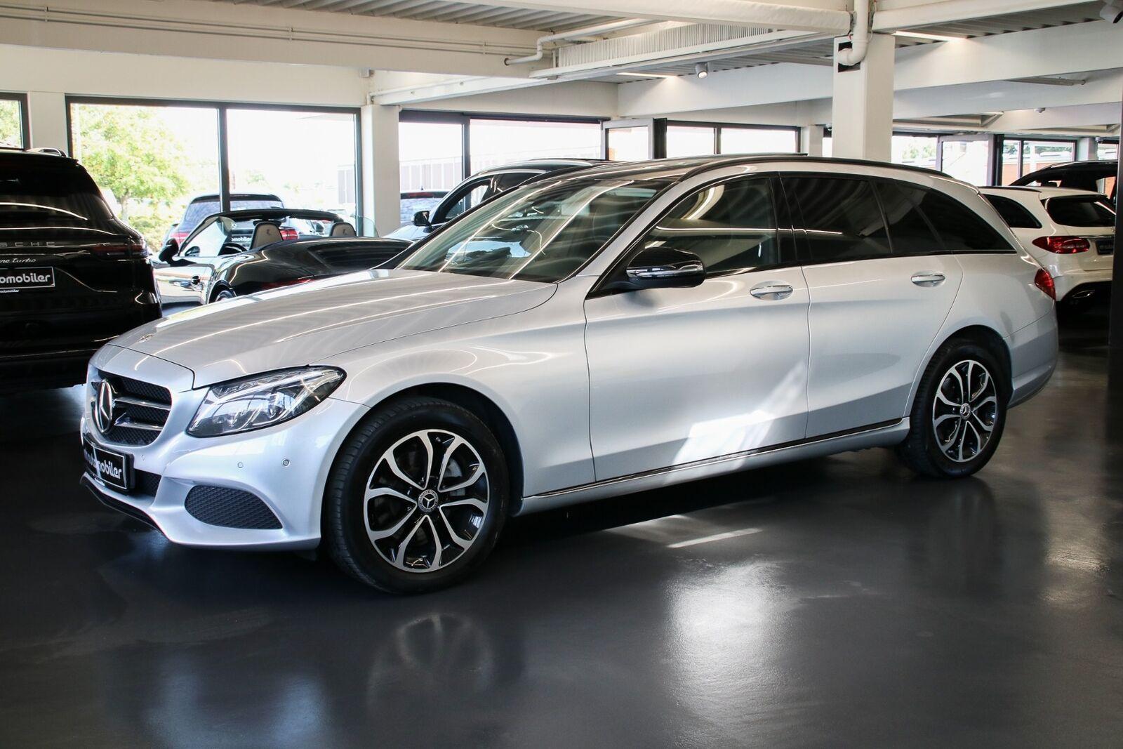 Mercedes C220 d 2,2 Avantgarde stc. aut. 4-M 5d - 1.967 kr.