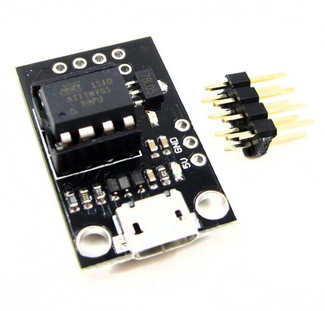 2PCS Digispark Kickstarter USB Attiny85 Pluggable Development Board