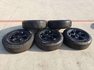 """17"""" Jeep Wrangler Rubicon Gladiator OEM Black wheels rims ..."""