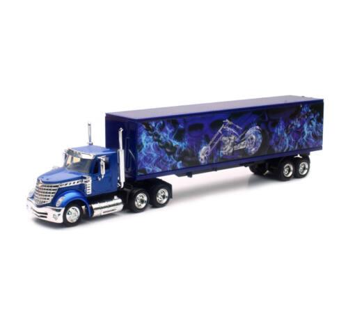 International Lonestar container bleu 1//43 New Ray
