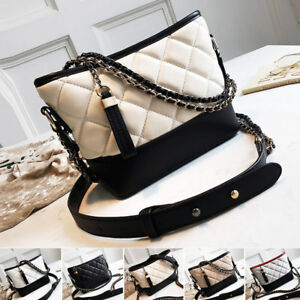 Convertible-Quilted-Faux-Leather-Small-Single-Shoulder-Bag-Crossbody-Chain-Purse