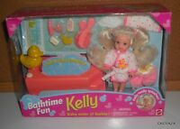 Mattel Bathtime Fun Kelly Baby Sister Of Barbie With Bath, 1995, No. 14552