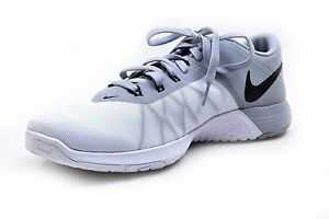 9a81984f572 Nike Men s FS Lite Trainer 4 Training Shoes White BLK Wolf Grey Size ...