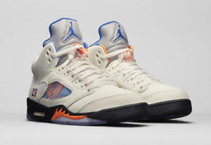 3017a0f96267 AIR JORDAN 5 RETRO 136027-148 International Flight Sail Royal Orange ...