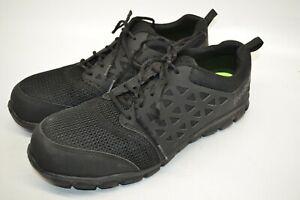 simpatía zona Religioso  Reebok Sublite Cojín Composite Toe Zapato de trabajo de ASTM RB4039-Negro  para Hombre 13 M - | eBay