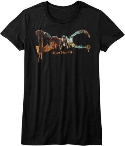 Devil May Cry DMC Logo Playstation 2 X Box 360 Video Game Womans T Shirt
