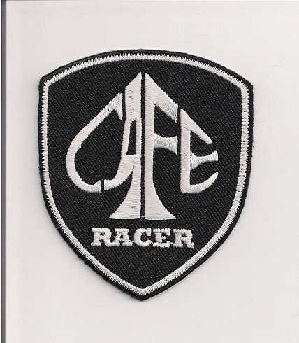 Rocker 3 inch Cafe Racer spade shield patch Ace.BSA Norton 59 Club Triumph