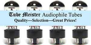 JJ EL84 Audio Power Amp PRIMO Vacuum Tube, Single, Pairs, Quads 6BQ5