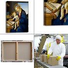 Botticelli vergine e bambino quadro stampa tela dipinto telaio arredo casa