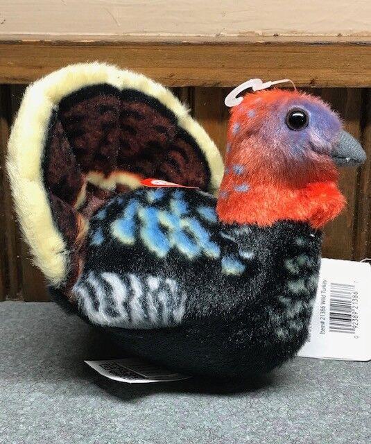 Wild Republic Audubon Birds Turkey Plush Authentic Sound Stuffed