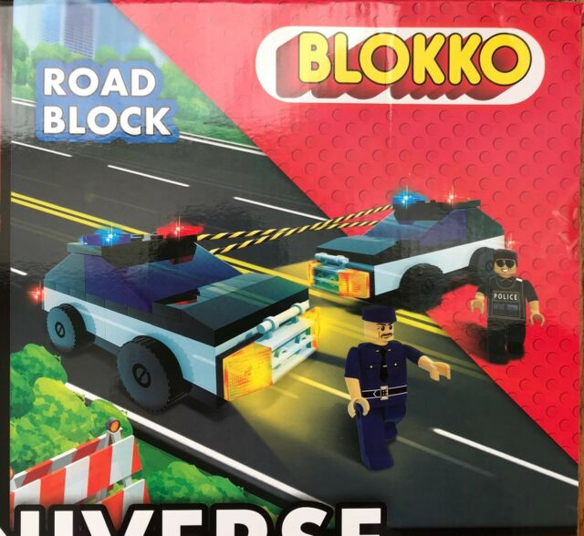 Blokko 20 Pk Mini Figure Gift Set Compatible With Other Major Brands Age 6+