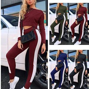 Tuta Sport Pantaloni Maglia Corta Donna Woman Hoodie Short Jacket Pants SETW07 P