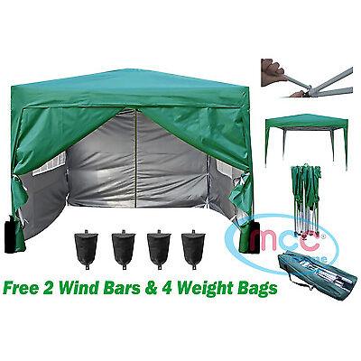 Mcc® 3 x 3 m Pop up Gazebo Waterproof Outdoor Garden Marquee Canopy