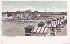 VIAREGGIO - Panorama della Spiaggia 1903