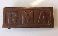 Antique R. M. A. Belt Buckle The Pettibone MFG. CO. CIN`TI O. Military Academy
