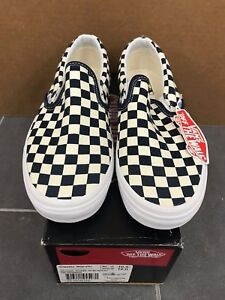 75c2e49e1cd VANS CLASSIC SLIP ON GOLDEN COAST SIZE 10.5 NEW WITH BOX CHECKERED ...