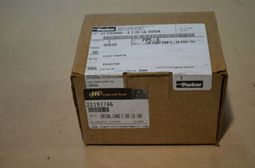 Parker Hydraulic Fitting 24-F50HAO-S 2.69 LG V0894 22191746