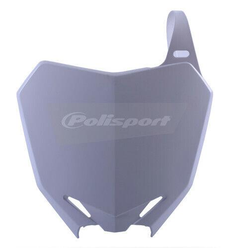 Polisport White Front Number Plate For Suzuki RMZ 250 10-15 8659300002 64-06646