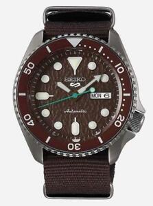 SEIKO-SRPD85K1-Seiko-5-Automatic-Watch-With-Nylon-Strap-Authorised-Stockist