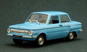 ZAZ-966-Zaporozhets-Azul-USSR-1966-ano-Diecast-Coleccionables-Escala-1-43-modelo-de-coche