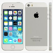 APPLE IPHONE 5S - 32GB - SILVER - FACTORY UNLOCKED - IMPORTED