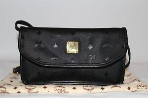 Ausverkauf billiger Verkauf Wie findet man Details zu MCM Umhängetasche Handtasche Damen Tasche klein Clutch schwarz  vintage