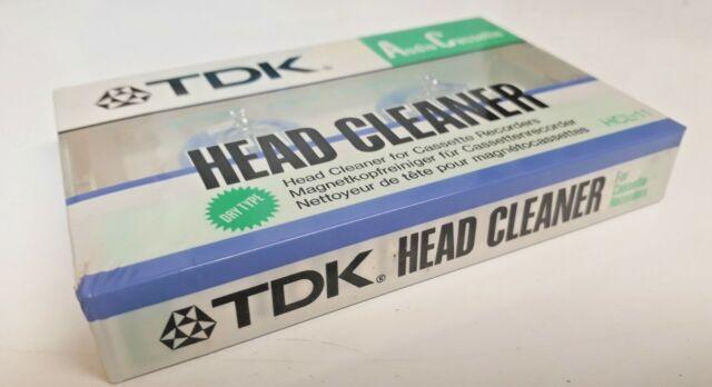 1 SEALED TDK  HEAD CLEANER  TAPE