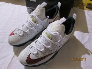3192e30f1c28 Nike LeBron XIII Low USA Gold Medal Size 12. 831925-164 Kyrie Cavs ...